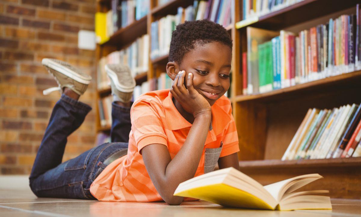 Image result for black boy reading