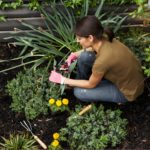 garden therapy, Gardening reduces stress, stress relief, ecotherapy, horticultural therapy,