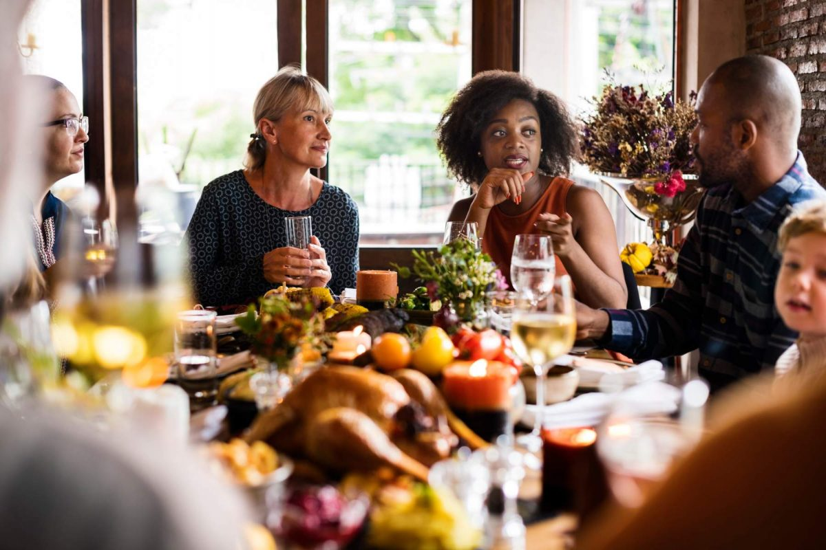 Avoid political minefields this thanksgiving, Mindful Family, Mindful Everyday